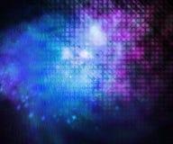 Textura futura del fondo de la ciencia Fotos de archivo libres de regalías