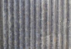Textura galvanizada da folha do ferro Fotografia de Stock