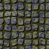 Textura generada inconsútil abstracta de los alquileres del pavimento Fotografía de archivo