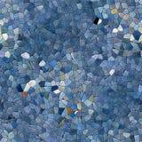 Textura generada inconsútil caleidoscópica de los alquileres del mosaico de cristal Foto de archivo libre de regalías