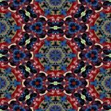 Textura generada inconsútil caleidoscópica de los alquileres del punto Fotografía de archivo libre de regalías