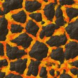 Textura generada inconsútil de los alquileres del extracto de las piedras de la lava Imagenes de archivo