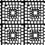 Textura geométrica abstracta stock de ilustración