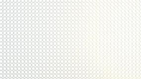 Textura geométrica abstracta de círculos aleatoriamente sacados ilustración del vector