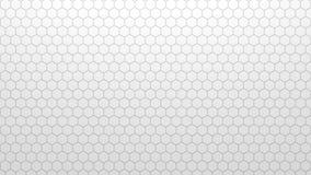 Textura geométrica abstracta de hexágonos aleatoriamente sacados Imagen de archivo libre de regalías