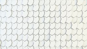 Textura geométrica abstracta de polígonos aleatoriamente sacados Fotografía de archivo