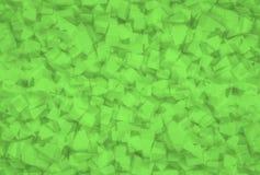 Textura geométrica abstracta verde Fotos de archivo libres de regalías