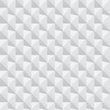 Textura geométrica blanca - fondo inconsútil Fotografía de archivo libre de regalías