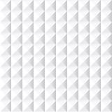 Textura geométrica blanca - inconsútil Foto de archivo libre de regalías