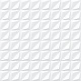 Textura geométrica blanca - inconsútil Imagenes de archivo