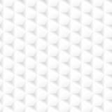 Textura geométrica blanca - inconsútil Foto de archivo