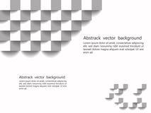Textura geométrica branca Projeto do fundo do vetor, backg do Web site Foto de Stock Royalty Free