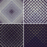 Textura geométrica da luz e da sombra Fotos de Stock Royalty Free