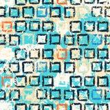 Textura geométrica del grunge del vector con la pintura Imagenes de archivo