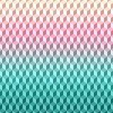 Textura geométrica do fundo teste padrão do vetor 3D Fotos de Stock