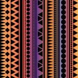 Textura geométrica do vetor sem emenda, colorida ilustração royalty free