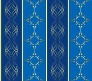 Textura geométrica inconsútil con las vendas Foto de archivo libre de regalías