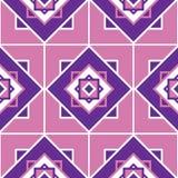 Textura geométrica inconsútil del modelo ilustración del vector