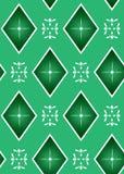 Textura geométrica inconsútil verde Foto de archivo