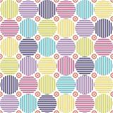 Textura geométrica sem emenda Imagem de Stock Royalty Free