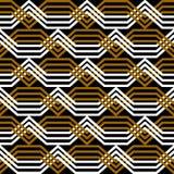 Textura geométrica sem emenda. Teste padrão do entrelaçamento. ilustração royalty free