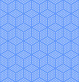 Textura geométrica sem emenda da ilusão ótica. Foto de Stock Royalty Free