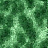 Textura gerada sem emenda calidoscópico dos alugueres do mosaico de vidro Foto de Stock Royalty Free