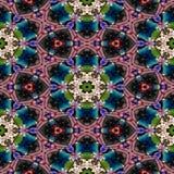 Textura gerada sem emenda calidoscópico dos alugueres do ponto Imagens de Stock Royalty Free