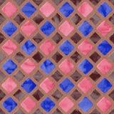 Textura gerada sem emenda dos alugueres das telhas de assoalho Fotografia de Stock Royalty Free