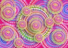 Textura gráfica del fondo del color arte gráfico digital moderno de la textura del fondo colorido del diseño stock de ilustración