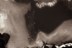 Textura grained preto e branco abstrata da tira do filme Imagem de Stock