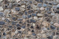 Textura grande da parede de pedra Imagens de Stock