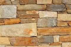 Textura grande de la pared de piedra Fotos de archivo libres de regalías