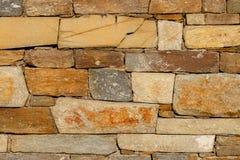 Textura grande de la pared de piedra Foto de archivo