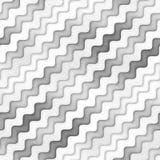 Textura Greyscale sem emenda da quadriculação Linhas onduladas teste padrão do inclinação Fundo abstrato subtil Fotos de Stock