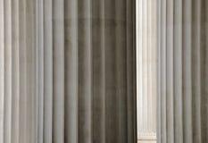 Textura griega de las columnas Imagen de archivo
