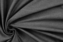 Textura gris arrugada de la materia textil Fondo de la textura de la tela fotos de archivo