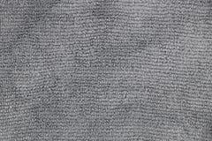 Textura gris clara del paño de la microfibra Imágenes de archivo libres de regalías