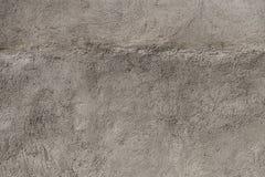 Textura gris clara del yeso, detallada Foto de archivo libre de regalías