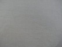 Textura gris de la tela de algodón Fotografía de archivo