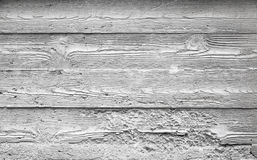 Textura gris del muro de cemento con el modelo de madera Imagenes de archivo