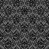 Textura gris floral Foto de archivo