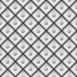 Textura gris. Fondo inconsútil del vector Fotos de archivo libres de regalías