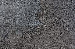 Textura gris oscuro de la pared del yeso Imagen de archivo libre de regalías