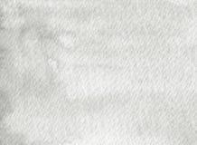 Textura gris pintada a mano de la acuarela Imagen de archivo libre de regalías