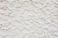 Textura grossa pesada do estuque do cimento da areia na parede fotos de stock royalty free
