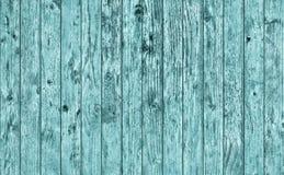 Textura grosseira atada rústica resistida velha do Grunge do entabuamento ciano da madeira de pinho imagem de stock royalty free