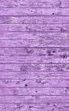 Textura grosseira atada rústica resistida velha do Grunge do entabuamento roxo da madeira de pinho foto de stock royalty free