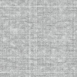Textura gruesa blanca inconsútil de la tela Foto de archivo libre de regalías