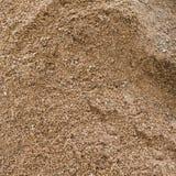 Textura gruesa de la arena Foto de archivo libre de regalías